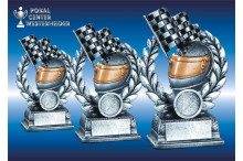 Racing Kartsport-Figuren Resin