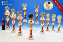 Korbball-Pokalserie in 10 Größen mit Flammendekor