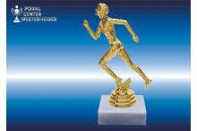 Leichtathletikfiguren Herren goldglanz