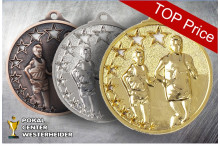 Medaillen Marathon ST9259 gold-silber-bronze