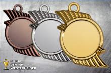 Medaillen Asymmetrie ST9334