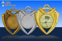 Medaillen Badminton ''Magic'' ST9166-60031