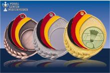 Medaillen Badminton ''Germany'' ST9218-60031