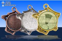 Badminton Medaillen ''Tricoli'' ST9221-60031
