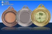 Badminton Medaillen ''Sportivo'' ST9287-60031