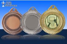 Basketball Medaillen ''Sportivo'' ST9287-60049