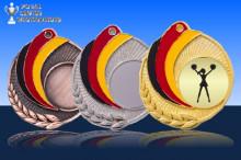 Medaillen Cheerleader ''Germany'' ST9218-90989