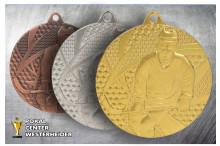 Eishockey Medaillen gold-silber-bronze TMMC6750