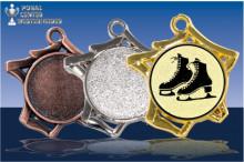 Eiskunstlauf Medaillen ''Tricoli'' ST9221-60169
