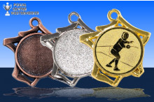 Fechtsport Medaillen ''Tricoli'' ST9221-60217