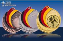 Medaillen Fussball ''Germany'' ST9218-60247
