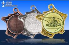 Kart Medaillen ''Tricoli'' ST9221-60307
