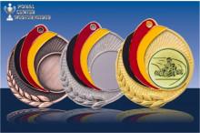 Medaillen Go-Kart ''Germany'' ST9218-60307
