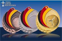 Medaillen Ju-Jutsu ''Germany'' ST9218-64053