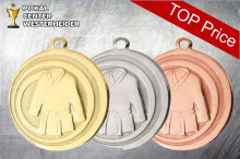 Medaillen Judo ''Harai-goshi'' RE1001