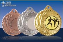 Medaillen Karate ''Fire of Olymp'' ST9296-60505