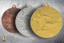 Medaillen Karate gold-silber-bronze TMMC6650