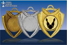 Medaillen Kegeln ''Magic'' ST9166-60541