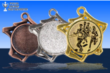 Marathon Laufsport Medaillen ''Tricoli'' ST9221-61363