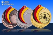 Medaillen Motocross ''Germany'' ST9218-60709