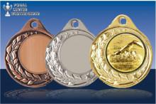 Schwimm Medaillen Halbranke ST9283-B47