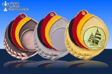 Medaillen Segeln ''Germany'' ST9218-61123