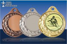 Medaillen Ski Halbranke ST9283-61136