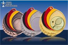 Medaillen Tennis ''Germany'' ST9218-61267