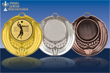 Volleyball Medaillen ''Grande'' ST9185-61375