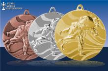 Judomedaillen Tachi-Waza in gold-silber-bronze