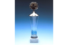 Kristall-Glaspokale mit Muster
