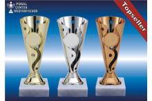 Pokal-Trophäenständer gold-silber-bronze