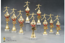 Eiskunstlaufen Pokale 'Monaco' 7049-34131-27 cm