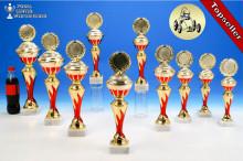 Seifenkistenrennen-Pokalserie in 10 Größen mit Flammendekor
