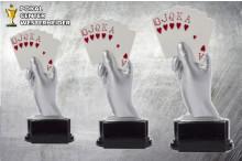 Pokern Pokal -Trophäen ST39127-29
