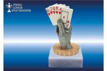 Pokerfiguren Resin color