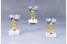 Preiswerte Cup Pokale gold-silber-schwarz 7007
