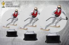 Ski Pokal -Trophäen ST39232-34
