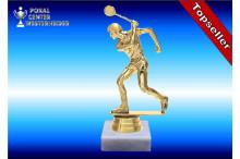 Squashfiguren-Trophäen männl. in goldglanz