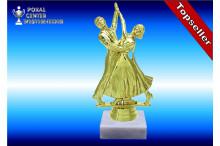 Tanzsportfiguren in gold