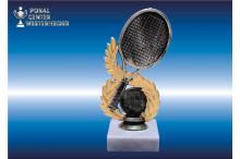 Tennisfiguren-Trophäen silber-gold