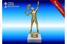 Herren-Tennisfigur in goldglanz 34600