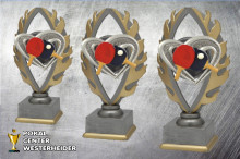 Tischtennis Pokale farbig BQ181