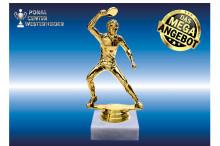 Herren Tischtennisfiguren in gold