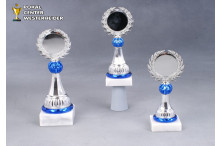 Trophäe Herbert blau-silber 750