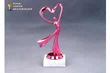 Herz Dame Trophäen pink Modern Dance