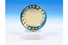 günstige Sieger-Trophäen O-163413 blau-gold