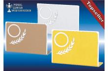 günstige Sporttrophäen-Serie gold-silber-bronze
