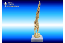 Turnsport-Trophäenfiguren männl. gold
