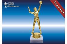 Herren Volleyballfiguren in gold